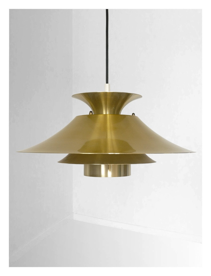 98 best mid century danish lighting images on pinterest danish danish vintage brass pendant 15000 via etsy mozeypictures Images