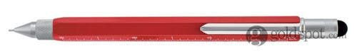 Monteverde One Touch Stylus Tool Red 0.9mm Pencil