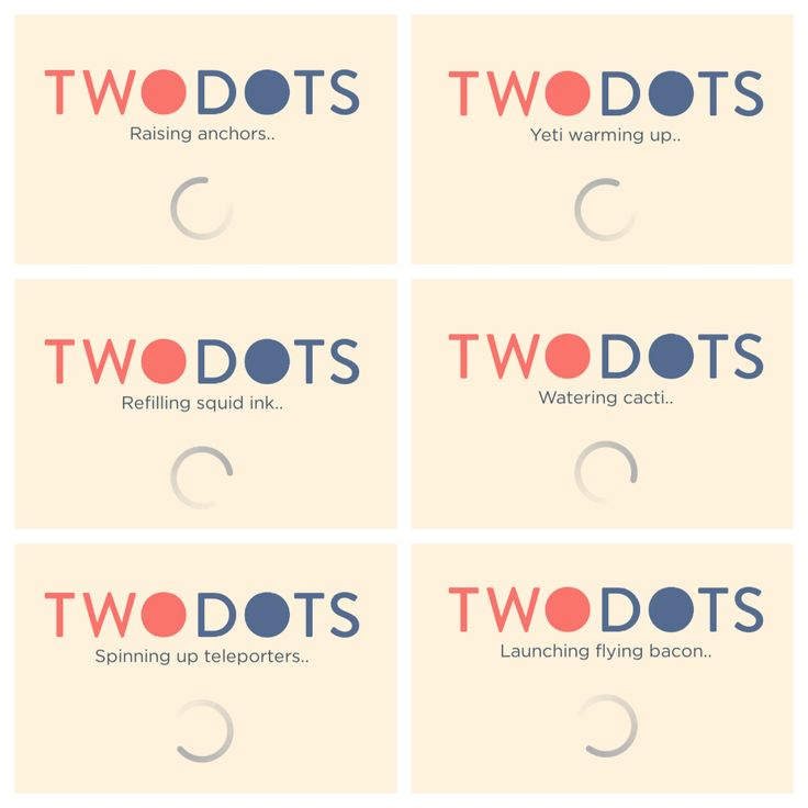 Image result for two dots loading