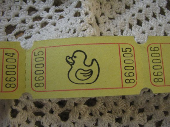 Duck Tickets, Baby Shower Games, Tickets, Little Yellow Duck, Duckies, Games, Scrapbook Embellishments, New Baby, Yellow Duck - Set of 25 on Etsy, $2.25