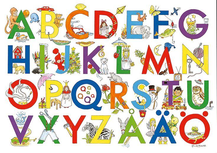 alfabet för barn - Sök på Google