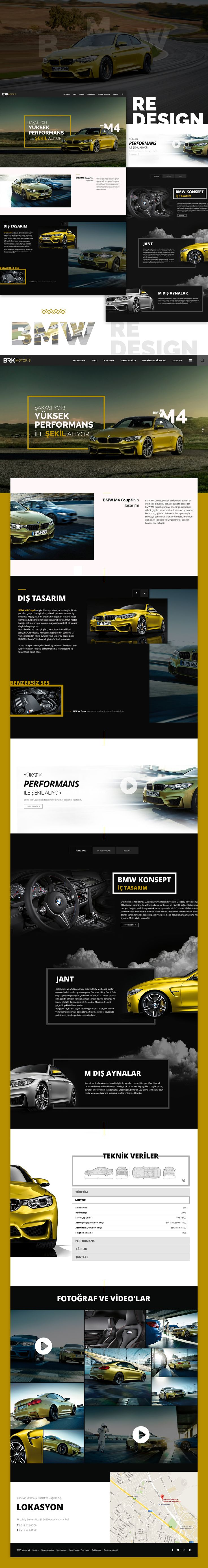 BMW M4 Coupe Redesign on Behance