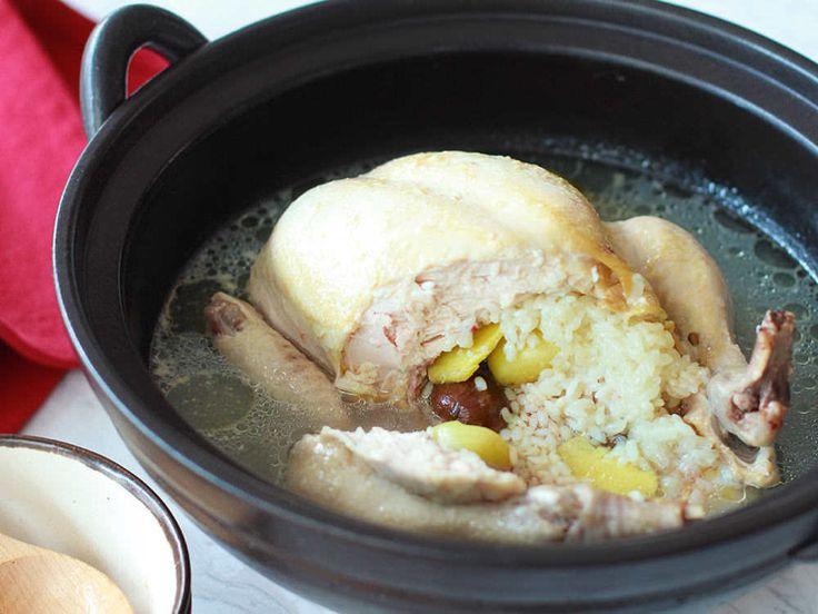 ほったらかしでOK! 炊飯器に入れるだけ、鶏の旨みたっぷり「サムゲタン」の簡単レシピ - dressing (ドレッシング)