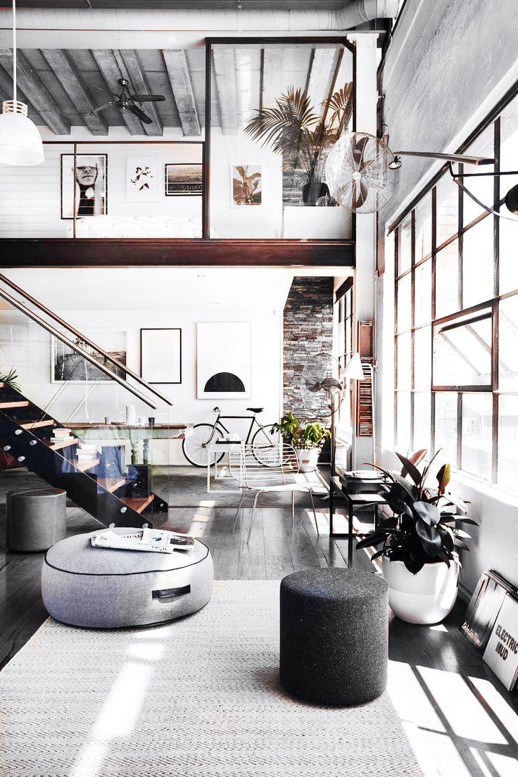Loft Apartment Interior Design Ideas Endearing Design Decoration