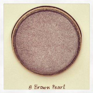 "Eyes : Eyeshadow - ""Brown Pearl"""