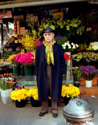 Quentin Crisp used to run into him shopping in the neighborhood. very eccentric, very pleasant