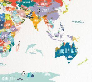 Ms de 25 ideas increbles sobre Mapamundi interactivo en