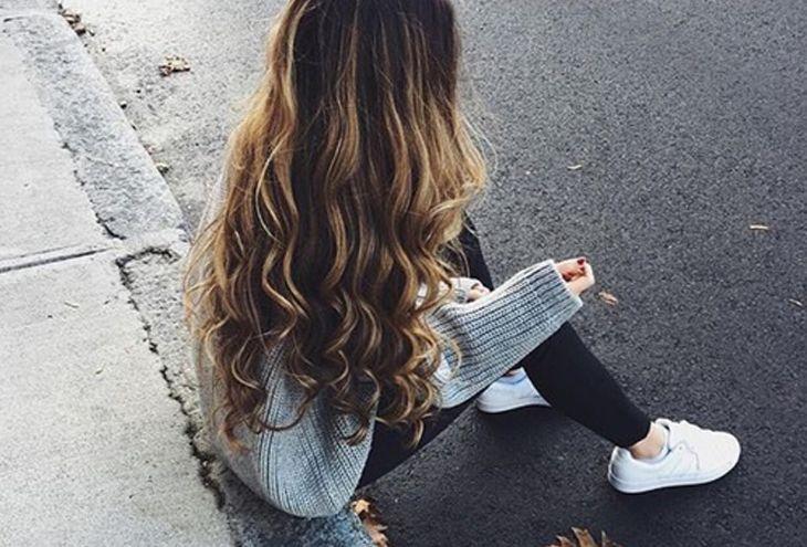 Τα μακριά, υγιή και λαμπερά μαλλιά είναι ένδειξη ευζωίας.