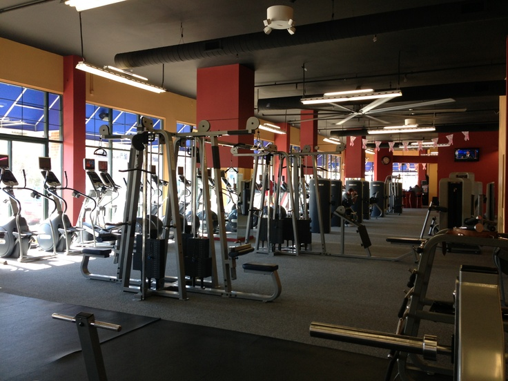 Workout Floor.