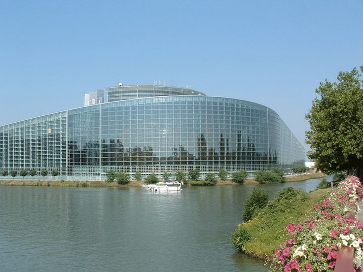 Parlement europ en architecture studio s bastien for Strasbourg architecture