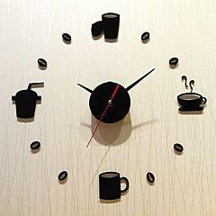 Modern/Contemporary+Holiday+Family+Wall+Clock,Novelty+Acrylic+Indoor/Outdoor+Indoor+Clock+–+USD+$+32.84