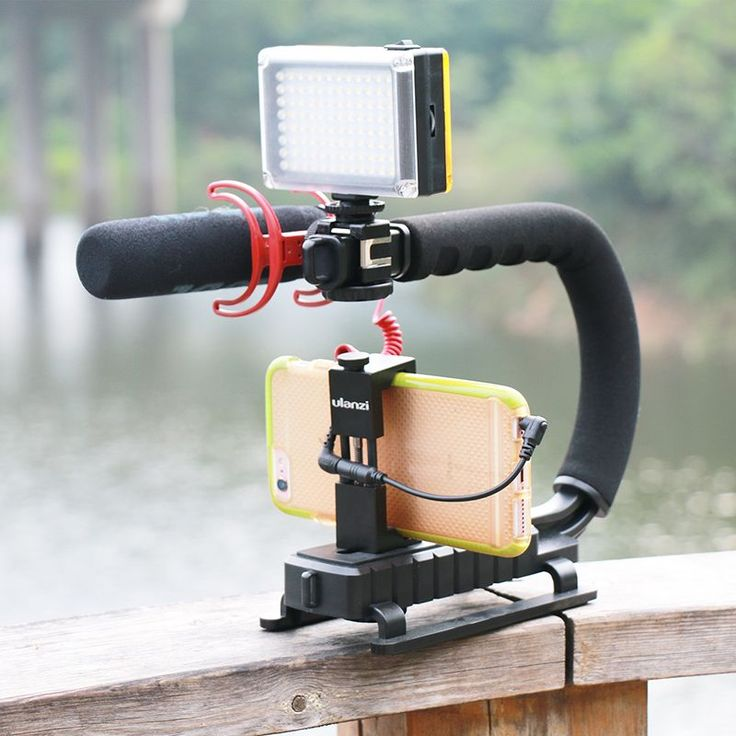 U Grip Triple Shoe Mount Video Action Stabilizing Handle Grip Rig for Canon Sony DSLR Camera,for iPhone 7 plus Phone Smartphone-in Photo Studio Accessories from Consumer Electronics on Aliexpress.com | Alibaba Group
