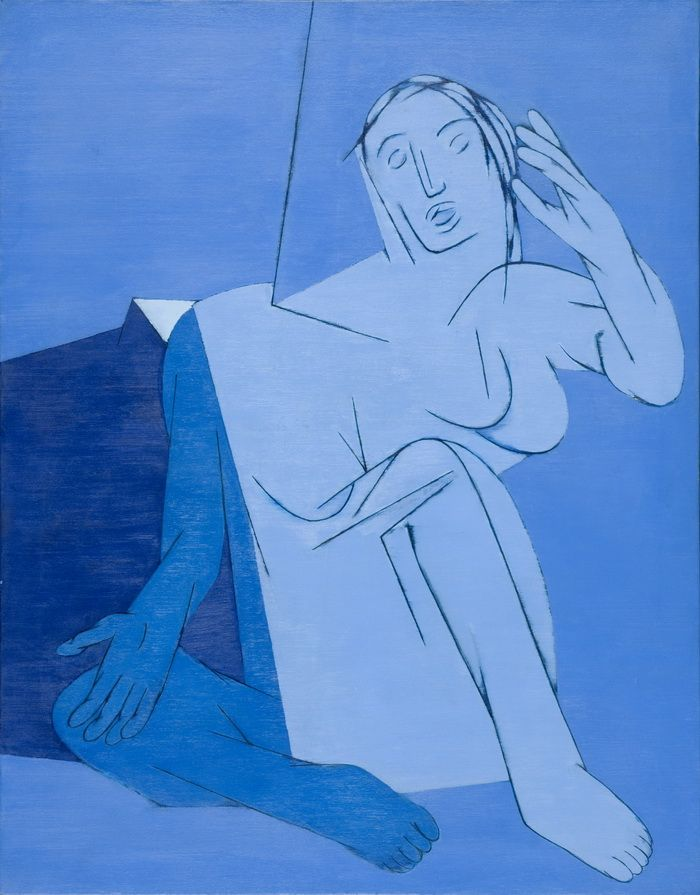 artist Tyeb Mehta (1925~2009 Kapadvanj, India)