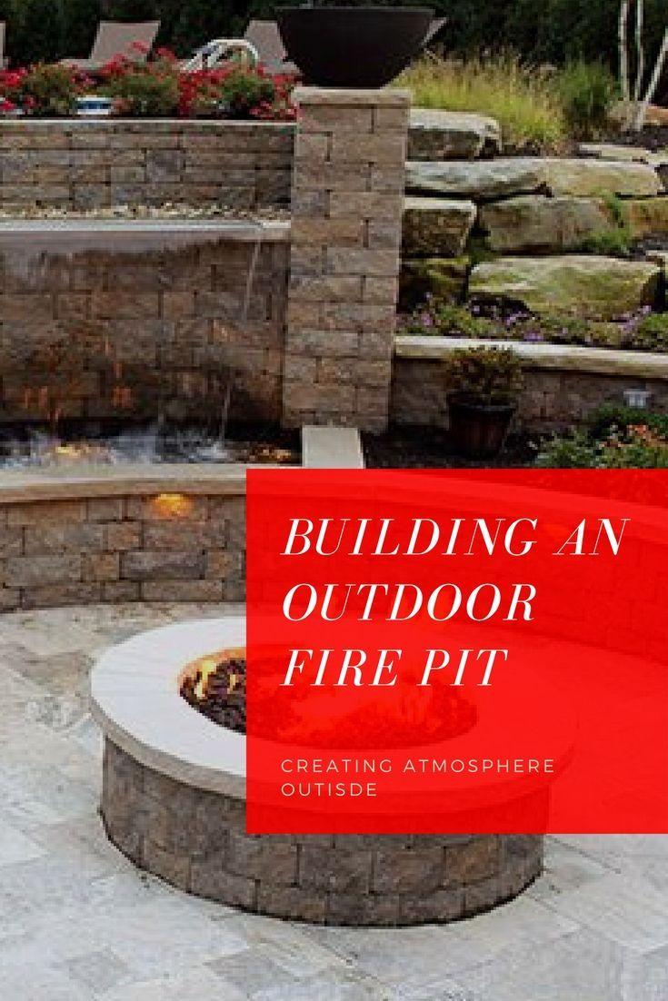 Garden fire features   Stunning Diy Ideas Fire Pit Backyard Walkway fire pit wall decor