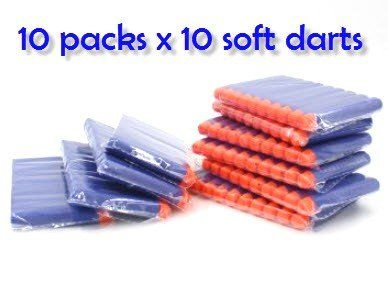 Amazon.com: 100-dart Refill Set for Nerf N-strike Elite, 100-dart Lot, Refill in Bulk: Blue Darts 100 Pack for Nerf N-strike Elite Rampage/retaliator Series Blasters Nerf A0707 A0709 A0710 A0711 A3844 A0712 A0713 A0715 Nerf A0714 Cs-35 Nerf ,And Most of Nerf Dart Guns and BuzzBee guns, Nerf War Party Accessories! By BlaydesSales: Toys & Games