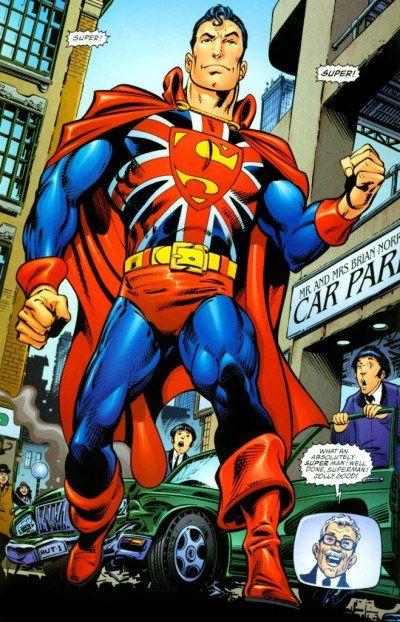 """Un cómic para el verano: """"Superman: un auténtico héroe británico"""""""