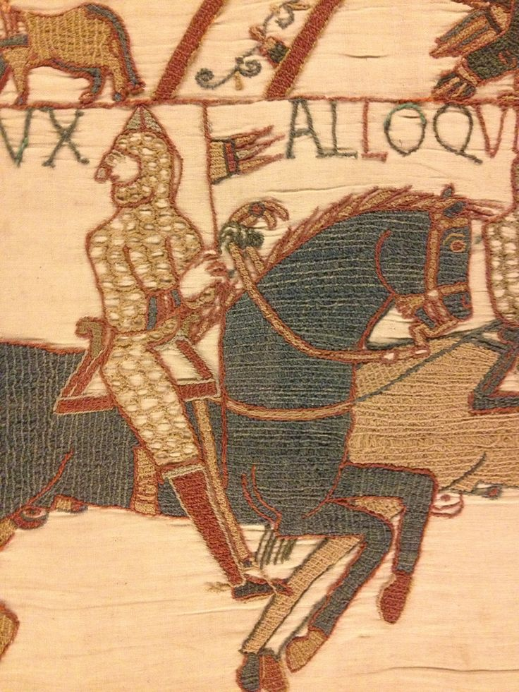 bayeux tapestry cloth