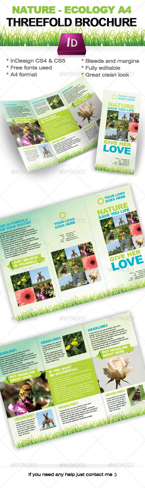 98 best images about print templates on pinterest print for Free indesign brochure templates cs5