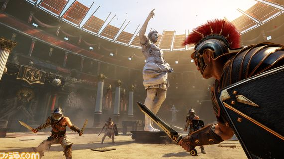 """""""Ryse Son of Rome"""" XBOX 360 Video Game"""