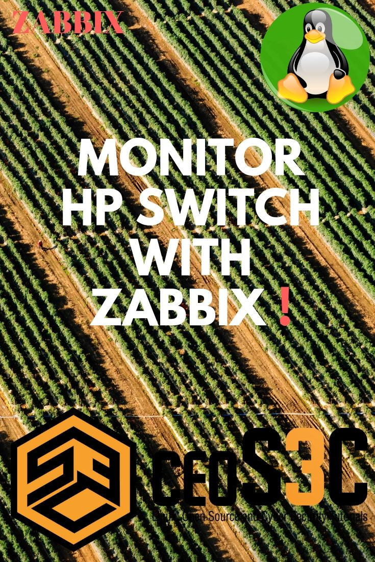How to Monitor an HP Switch with Zabbix via SNMP  #Sysadmin