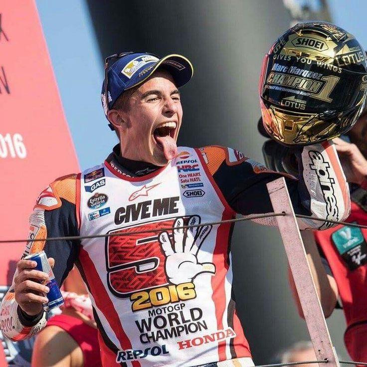 Marc Marquez Motogp World Champion 2016