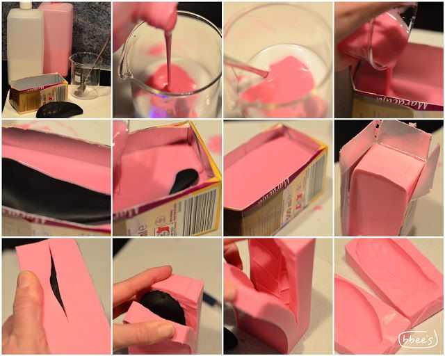 Silikon-moulds selber machen