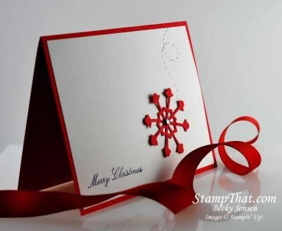 Image result for handmade card red