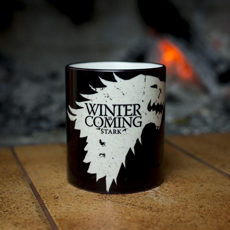 Game Of Thrones House Stark Winter Is Coming Heat Sensitive Coffee Mugs //Price: $19.50 & FREE Shipping //     #gots7