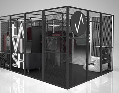 "Check out new work on my @Behance portfolio: ""Stand exhibition for Lavish"" http://on.be.net/1HrxBvr"