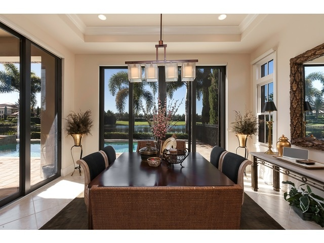 Talis Park Detached Villa  - Naples - Contemporary Dining