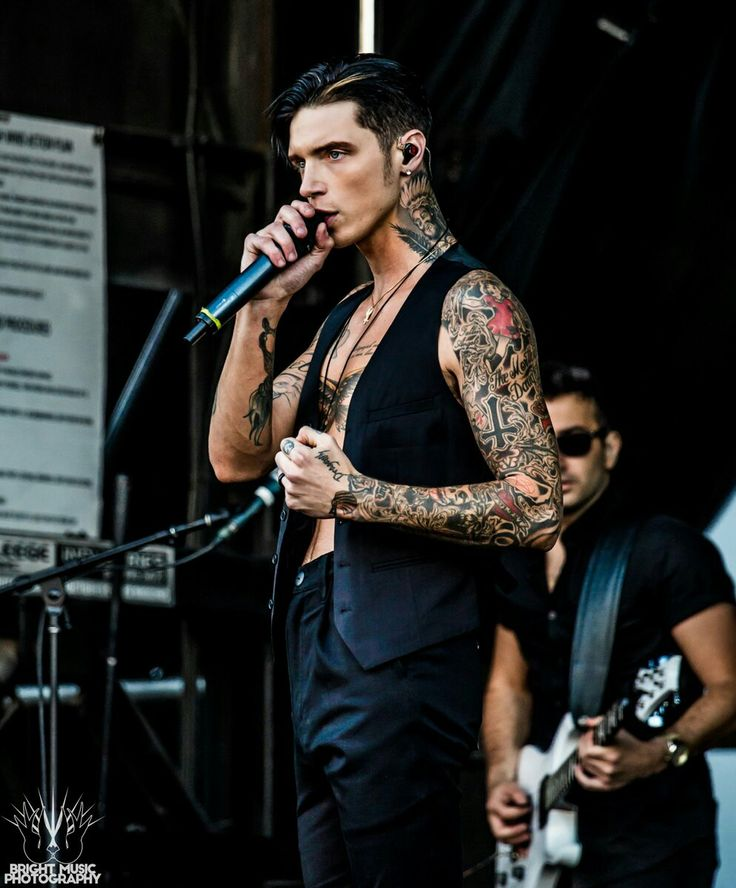 Andy from Black Veil Brides