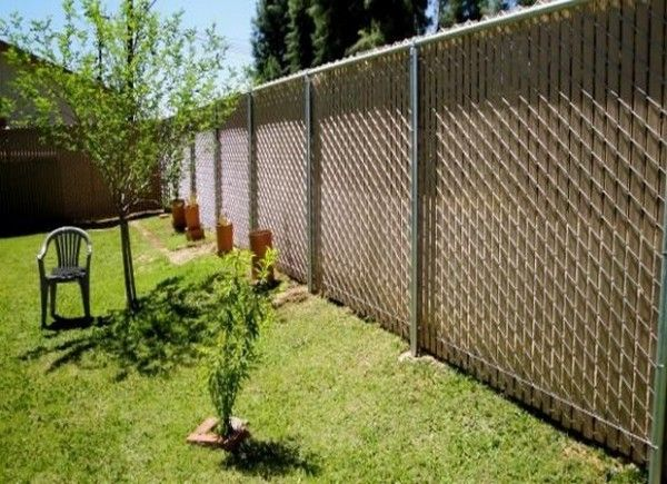 decor fence covering with remarkable chain link fence