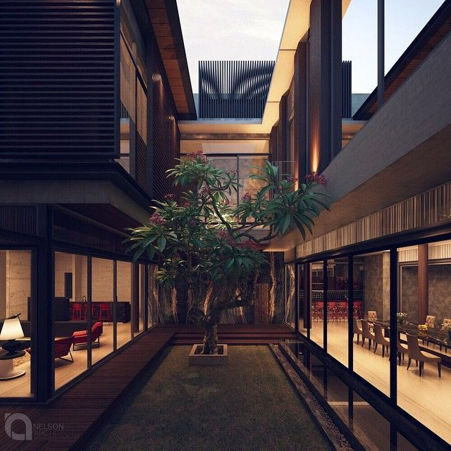 Inner court | draft | AA house #nelsonarchitects #3dmax #3dviz #vrayrender #visualization #evermotion #architecture  #render_contest #arquitecto #arquitectura #inspirationdesign #instaarchitecture  #archilovers #architexture #architectureporn #architecturelovers #design #designer #luxury #archiporn #architect