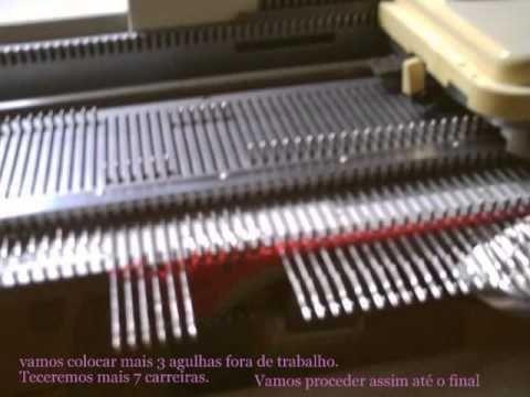 vem vêr, vem!!! - Receita de Tricô à Máquina - Trança Russa  (by Irma Pereira Gomes) Linda Trança!