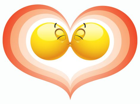 French Kiss Emoticons Smiley Faces Pinterest Symbols Emoticons
