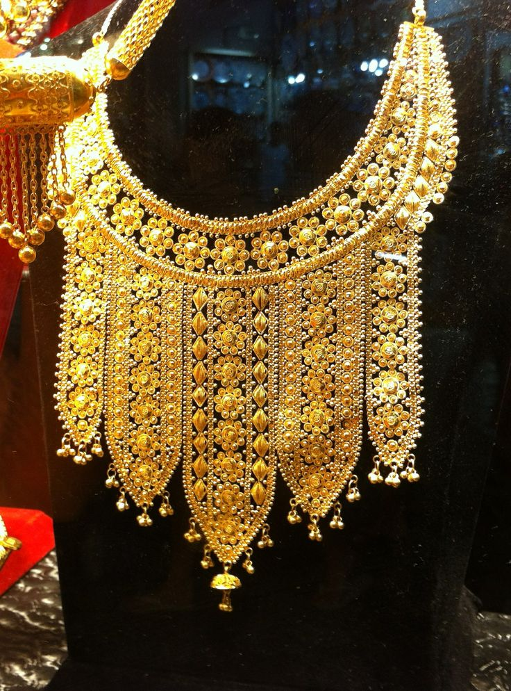 Collar de oro - Gran Bazaar, Estambul / Gold necklace - Grand Bazaar, Istanbul