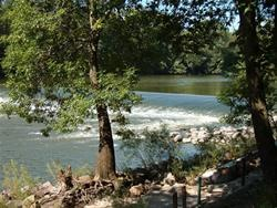 Dam at Heery Woods State Park