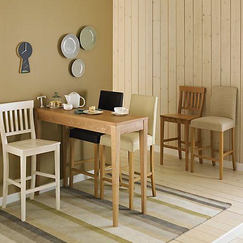 buy john lewis miso bar table oak online at johnlewiscom. beautiful ideas. Home Design Ideas