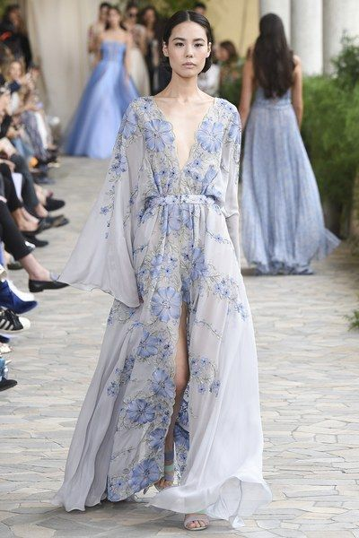 View the complete Luisa Beccaria Spring 2017 collection from Milan Fashion Week.