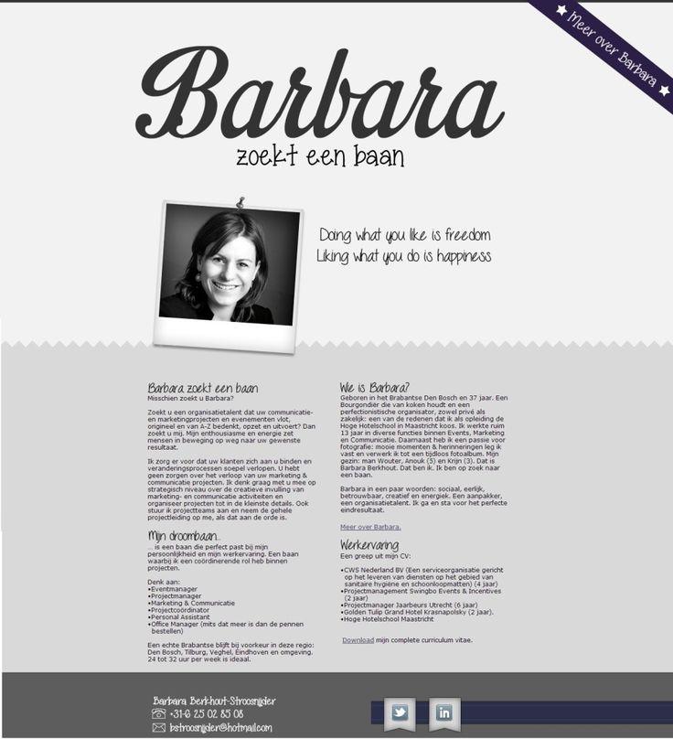 CV 2.0 Barbara