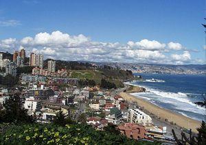 Курорпт Винья-дель-Мар в Чили. Лучший пляж, интересные места для туризма в Чили