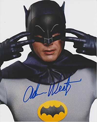 Adam West Batman #11 Original Autographed 8x10 Photo with COA @ niftywarehouse.com