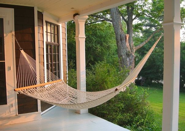 Idei Malogo Biznesa Southern Porches Backyard Retreat Hammock