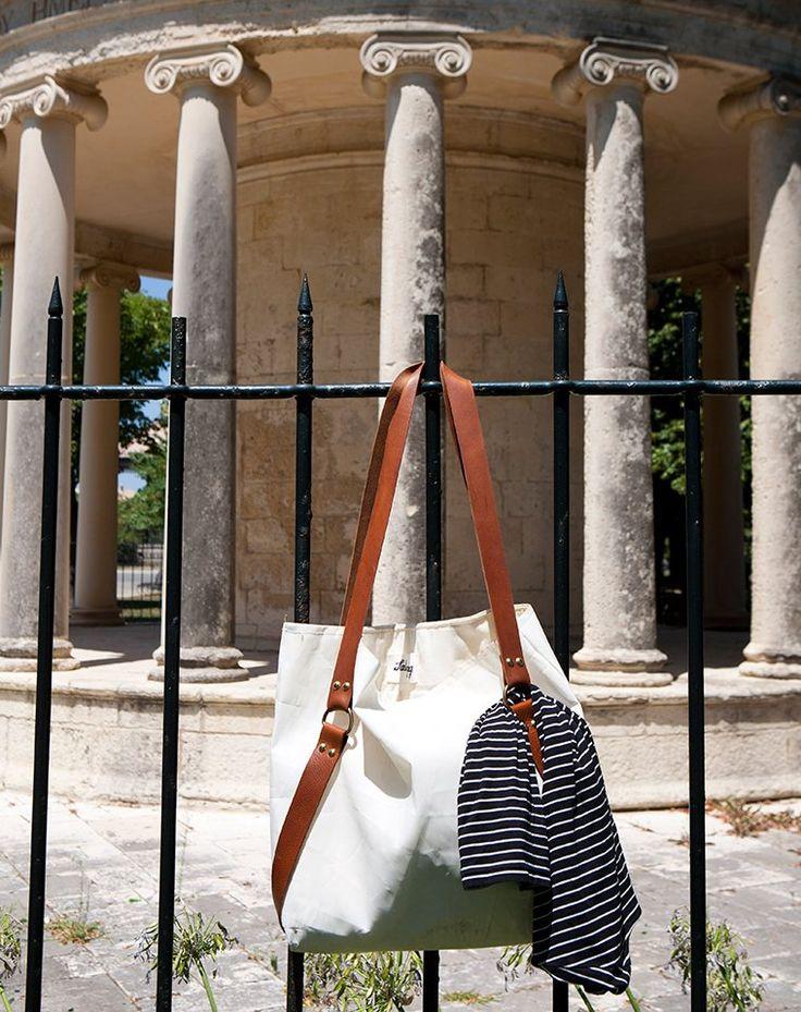 Salty bag in ''mia fora ki ena...doro'' shop  Nafplio Creece