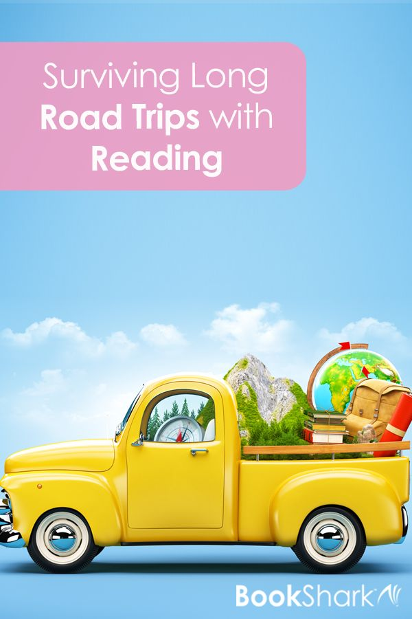 Surviving Long Road Trips with Reading #familytravel #reading