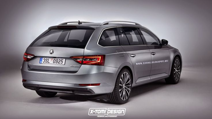 2015 Skoda Superb Kombi!