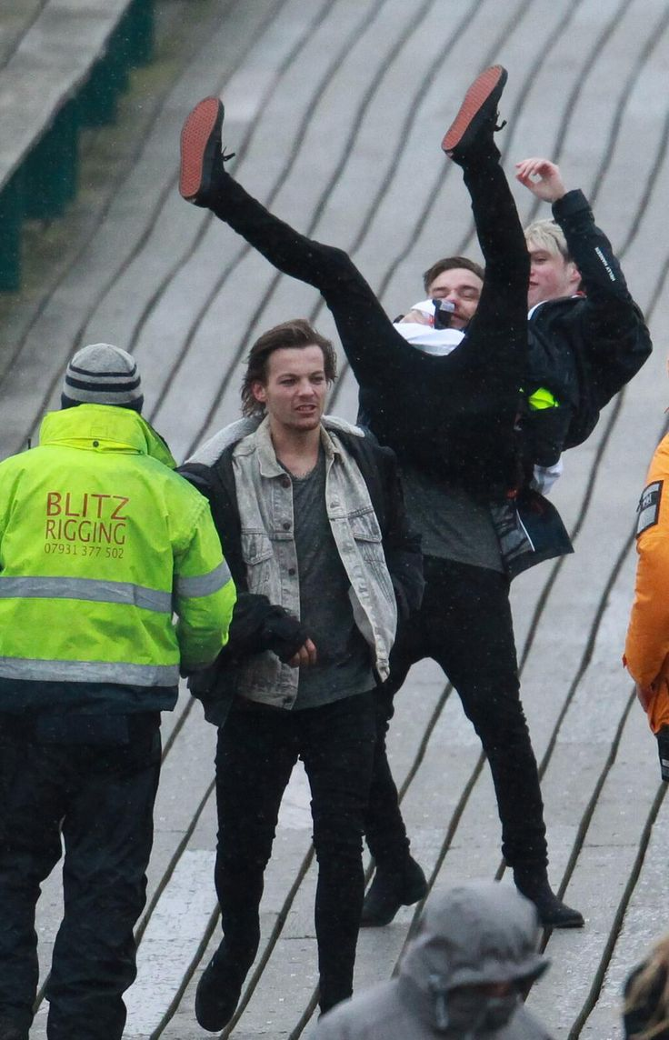 Louis Tomlinson, Liam Payne, and Niall Horan