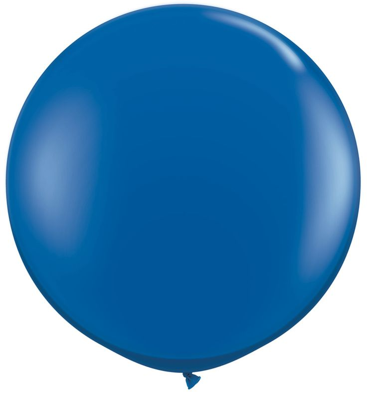 Let's Party With Balloons -  3 Foot Fashion Latex Blue Balloon, $15.00 (http://www.letspartywithballoons.com.au/3-foot-fashion-latex-blue-balloon/)