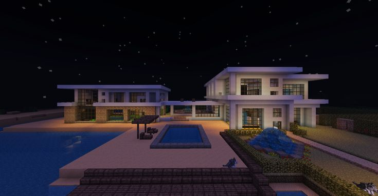 Minecraft Beach House | Large Modern Beach House - Minecraft Forum
