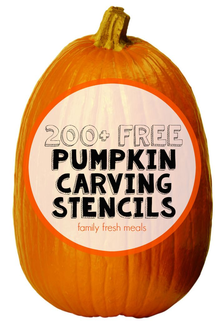 Every Halloween, I search for fun and FREE pumpkin carving stencils. This year I decided to make a post of all the great ones I have found over the years.